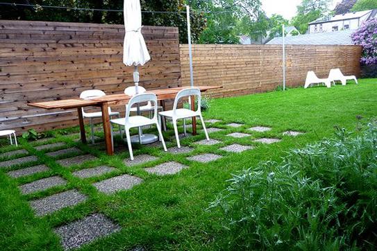 Làm việc với khoảng sân vườn với một vài mẹo nhỏ, áp dụng những thiết kế nội thất hô biến thành thiên đường nghỉ dưỡng ngay tại nhà