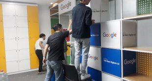 Thi công nội thất văn phòng google