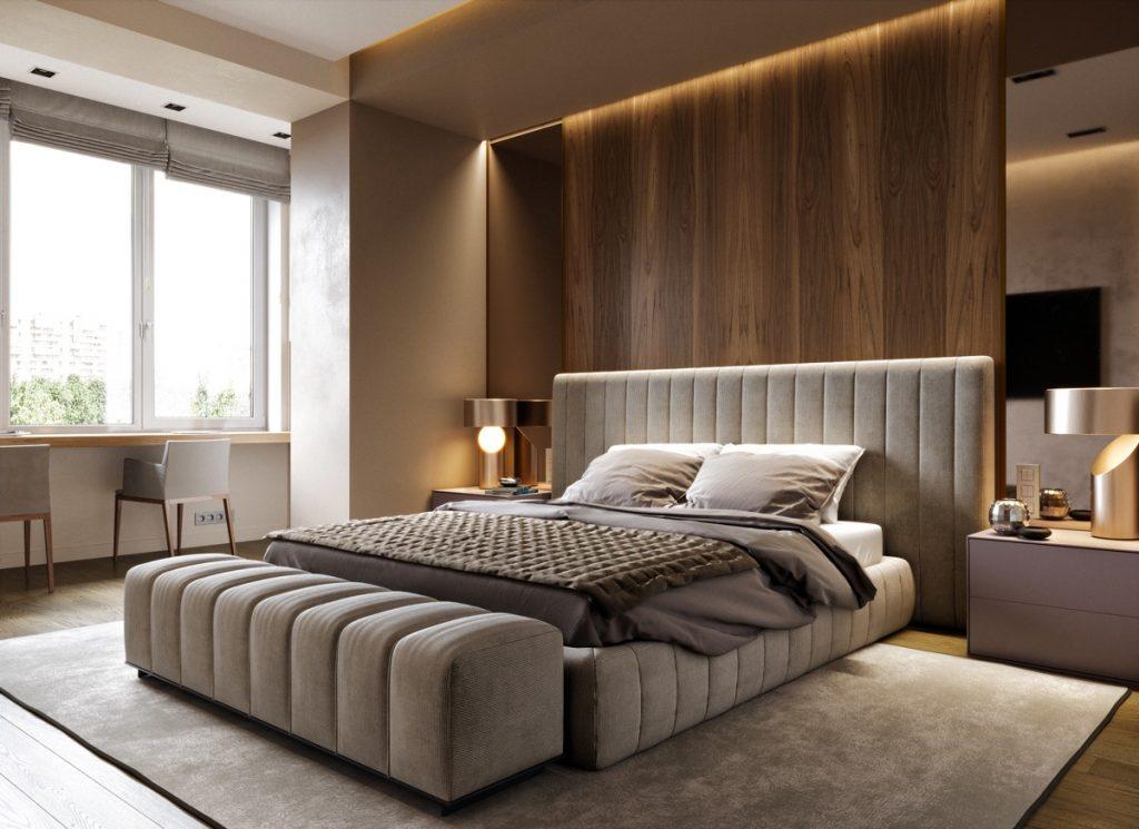 thiết kế thi công phòng ngủ sang trọng