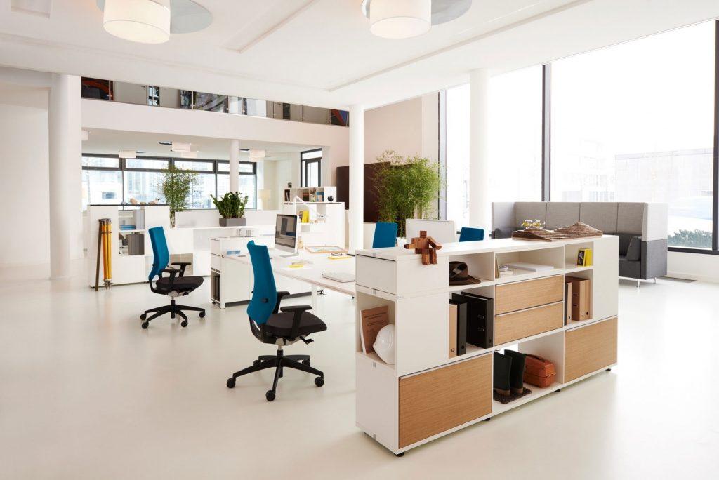 Lựa chọn màu sắc chủ đạo văn phòng