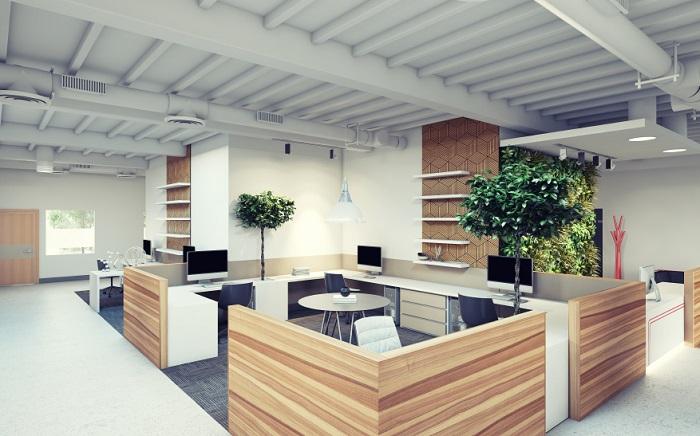 Thiết kế văn phòng làm việc nhỏ
