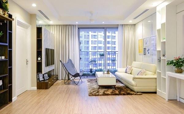 vị trí phòng khách chung cư