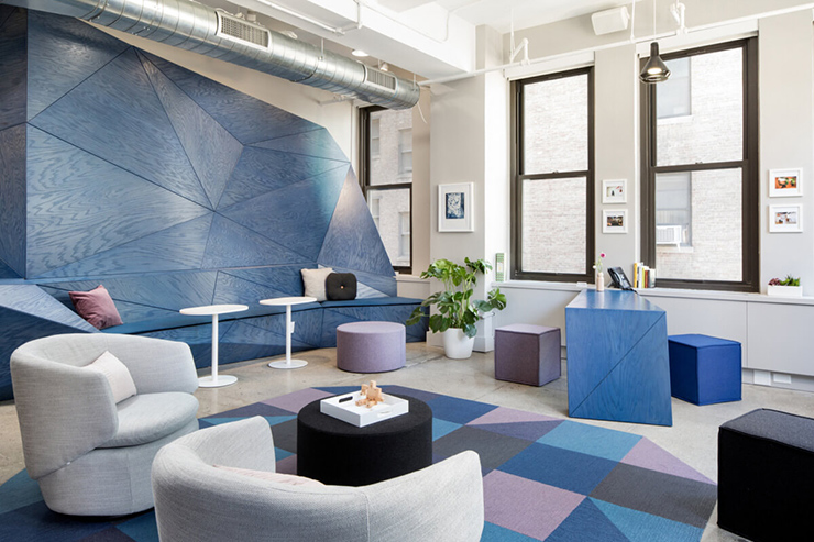 mẫu thiết kế văn phòng làm việc sáng tạo