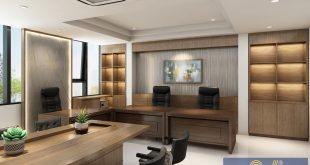 thiết kế thi công nội thất văn phòng - An viet house