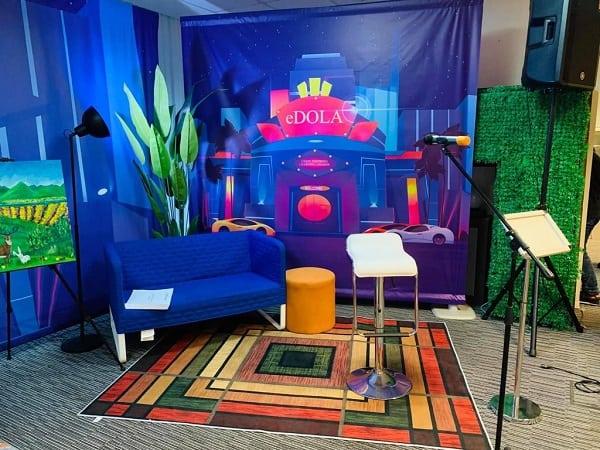 setup phòng livestream