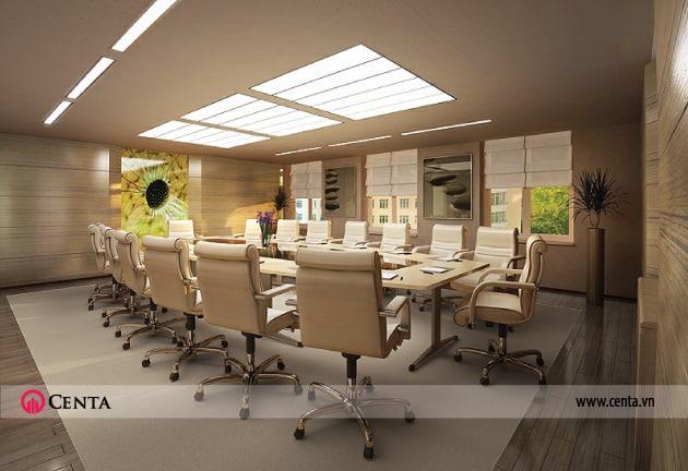 thiết kế văn phòng của centa