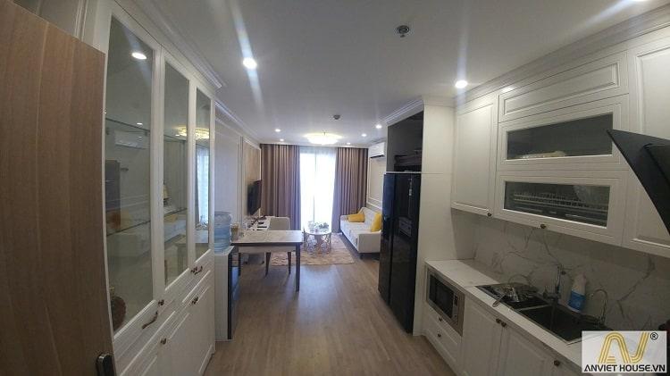 các mẫu thiết kế nội thất chung cư nhỏ đẹp
