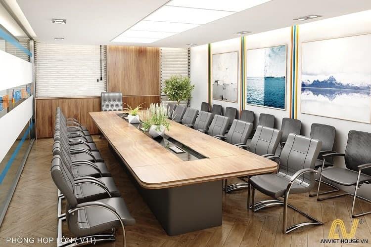 phòng họp công ty Hương Việt - An Viet House thiết kế