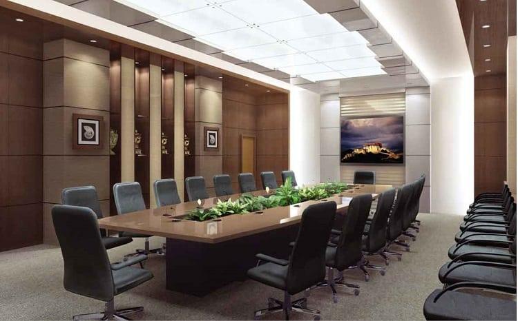 yếu tố phong thủy trong phòng họp