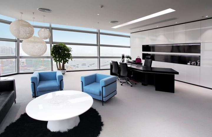 nội thất phòng giám đốc hiện đại