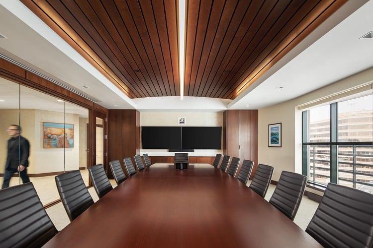 thông gió trong phòng họp