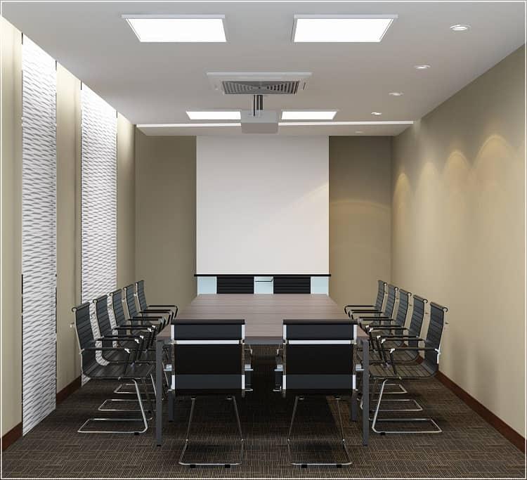 phòng họp hiện đại diện tích nhỏ