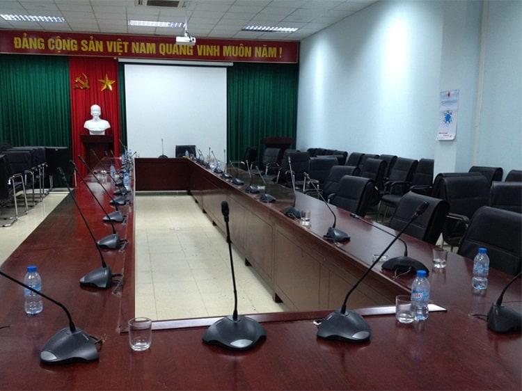 phòng họp cơ quan Nhà Nước