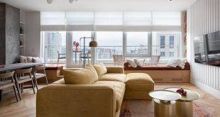 nội thất phòng khách thông minh sang trọng