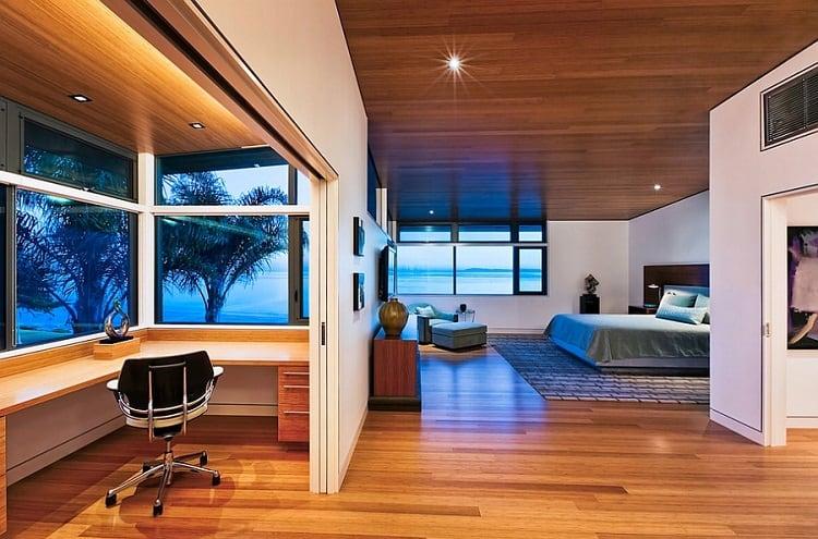 thiết kế phòng làm việc trong phòng ngủ