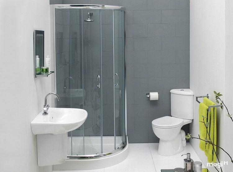 thiết kế chung cư thông minh - phòng tắm