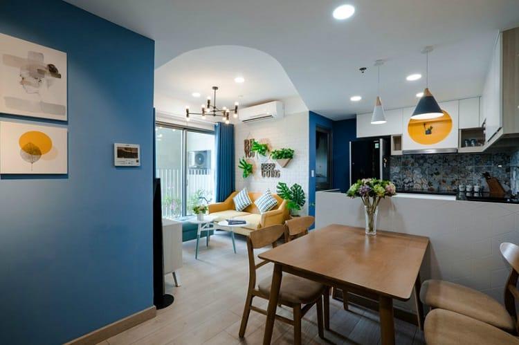 ánh sáng tự nhiên trong căn hộ chung cư