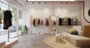 nội thất cửa hàng thời trang nhỏ