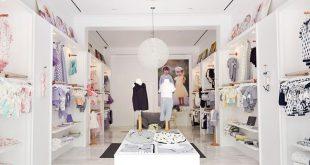 trang trí nội thất cửa hàng thời trang trẻ em