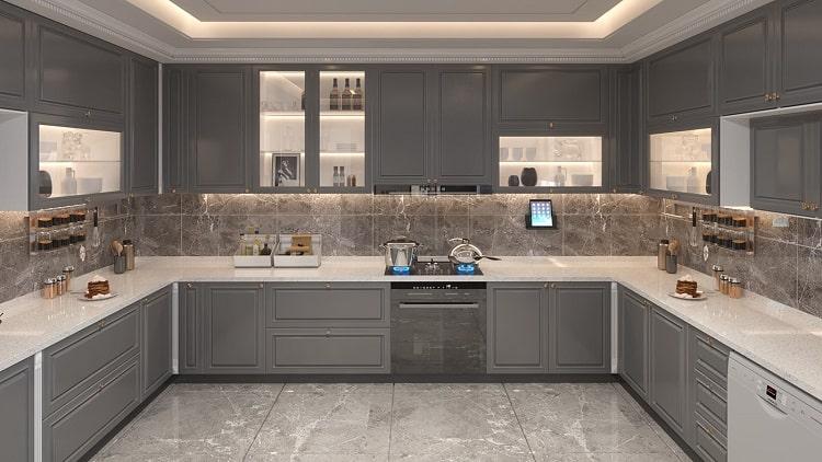 thiết kế phòng bếp đẹp