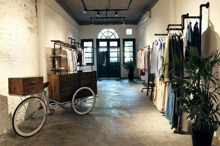 cửa hàng phong cách vintage